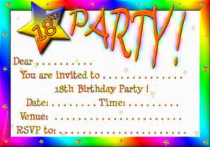 18th birthday invitations theruntime