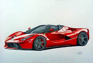 How To Draw A Laferrari La Spider By Pavee12120 On Deviantart