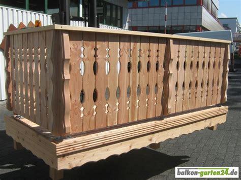 Balkongeländer Holz Einzelteile by Konsole Zwischenholz Douglasie Balkon Garten24 De