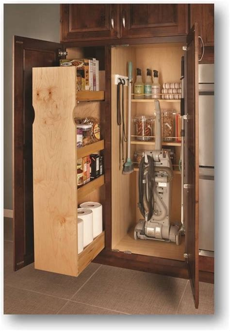 Organize Kitchen Cabinets utility broom cabinet dimensions