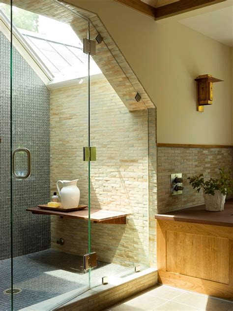 Skylight Shower by Why Didn T They Think Of That In Bathroom Remodel