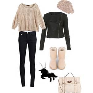 winter clothes polyvore