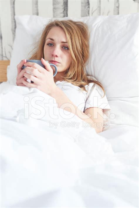 sick in bed cartoon tv families
