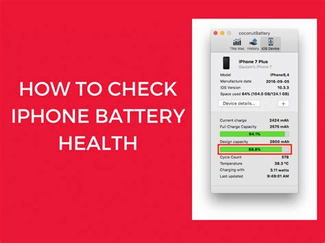 check iphone battery health   easy ways