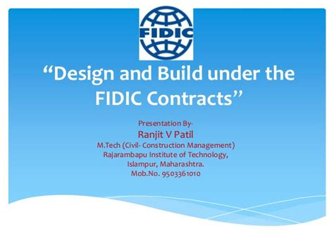 fidic design and build contract free download fidic