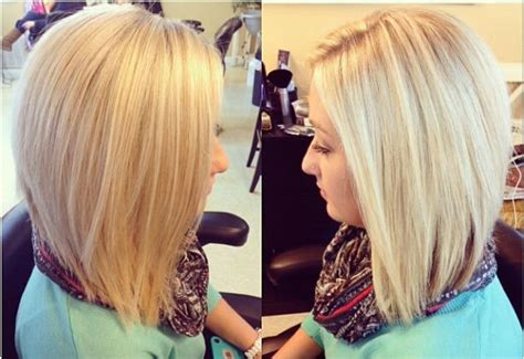 undercut bob hairstyle pictures medium length great mid length angled bob hairstyles pinterest