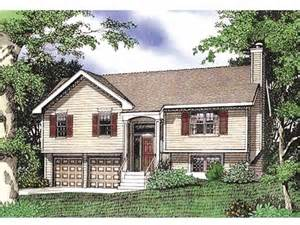 split level style eplans split level house plan three bedroom split level