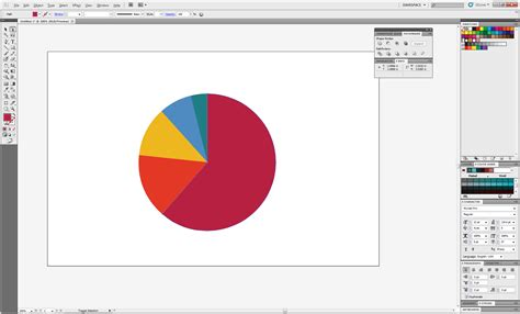 graph diagram tool create a 3d pie chart using adobe illustrator digital tap