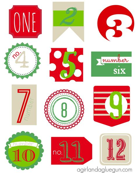 6 Best Images Of Free Christmas Printables 12 Days The Twelve Days Of Christmas 12 Days 12 Days Of Printable Templates