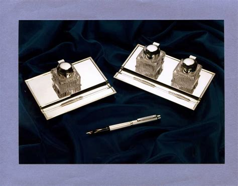 Silver Desk Set by Sterlingsilverdesksets