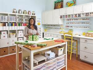 Craft Room Layout Designs by How To Turn Any Space Into A Dream Craft Room Hgtv S