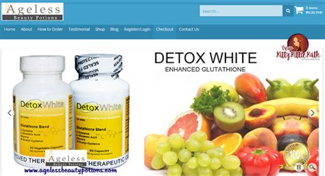 White Detox by Feature Ageless Potions Dear Kittie Kath