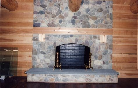 Fieldstone Fireplace | fieldstone fireplace pictures and ideas