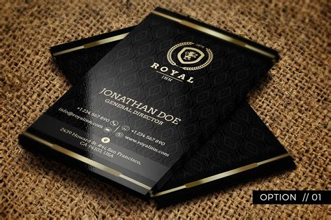 Black Gold Business Card Templates by 25 Black And Gold Business Card Templates