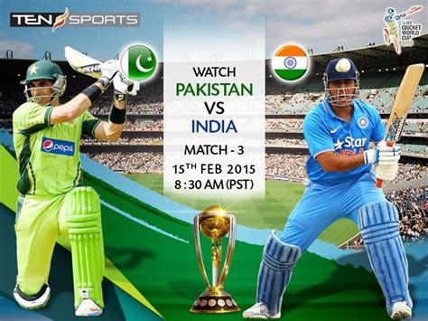 for india pak match pakistan vs india match live cricket world cup 2015