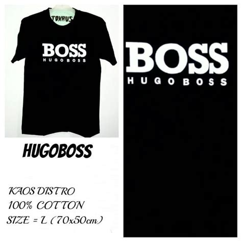Diskon Kaos Fashionable 1 Distro Seven jual t shirt kaos distro hugoboss premium diskon di lapak eb store denmasbohemian