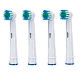 porta spazzolini braun vitality 4 x testine di ricambio generiche per spazzolini b
