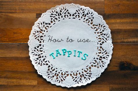 Tappits Cake Decorating by Tutorial Tuesday How To Use Tappits Juniper Cakery
