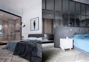 une salle de bains dans la chambre joli place