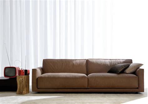 divani berto divano in pelle ribot berto salotti