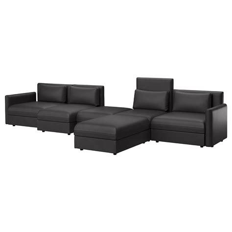 black ikea sofa vallentuna 5 seat sofa murum black ikea