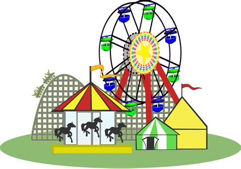 Theme Park Clipart | free to use public domain theme park clip art