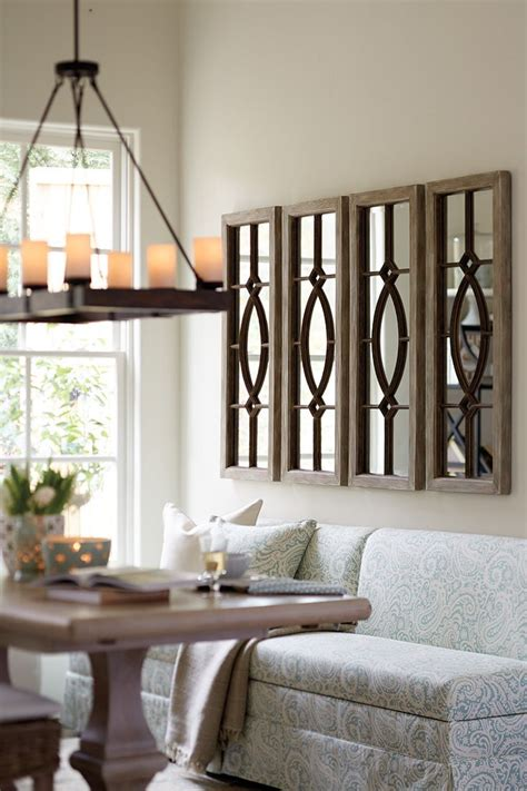 mirrors in living room 25 best ideas about dining room wall decor on pinterest