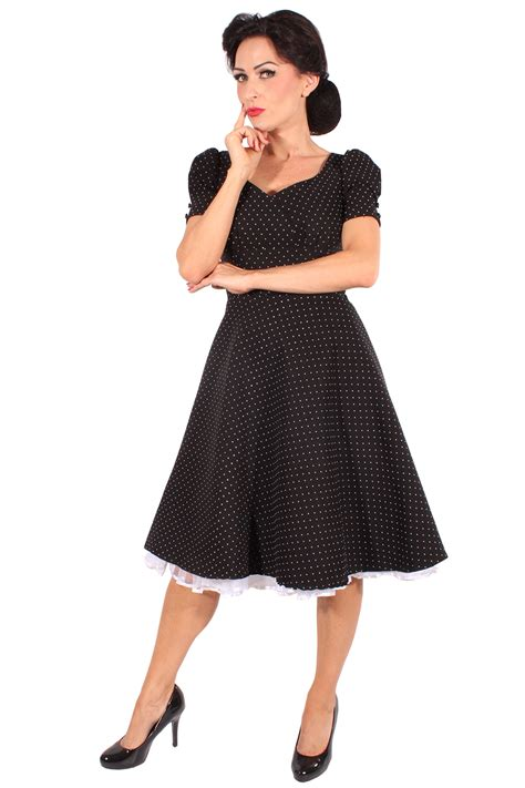 rockabilly swing kleid 50s rockabilly swing kleid polka dots puff 228 rmel