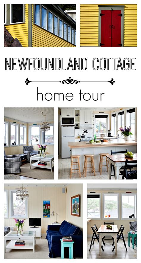 cottage rentals newfoundland newfoundland cottage charming home tour town country