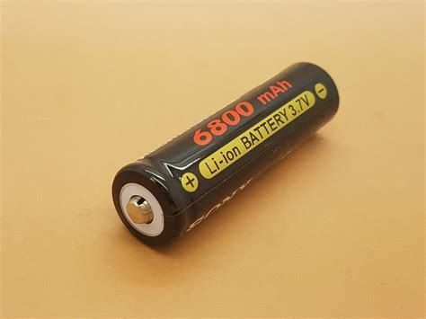 Baterai Battery Rechargeable Sony 6800 Mah jual 6800mah sony 18650 rechargeable battery 3 7v di