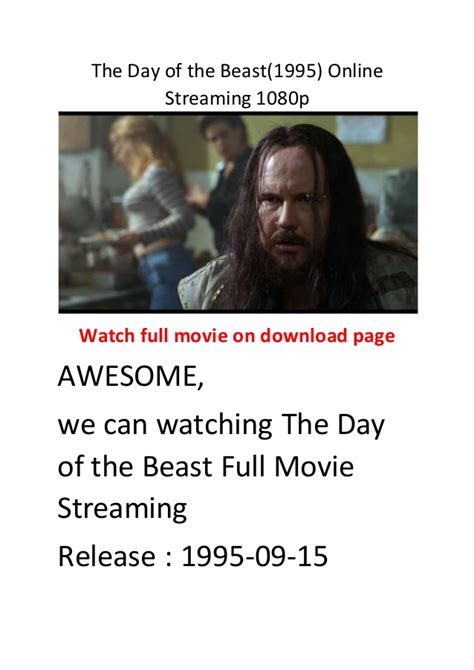film comedy streaming the day of the beast 1995 online streaming 1080p