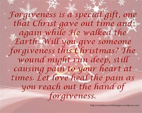 christmas  time  forgive workplace worldchangers