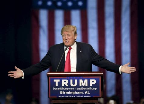 donald trump presidential picture what does donald trump believe where the candidate stands
