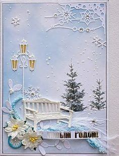 Yet Another Delight Jardin Dulysse by My Paper Shadowbox Card Die Cut Cards