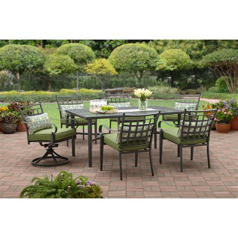 6 Seat Patio Dining Set Colton 7 Patio Dining Set Seats 6 Patio Garden Pooh