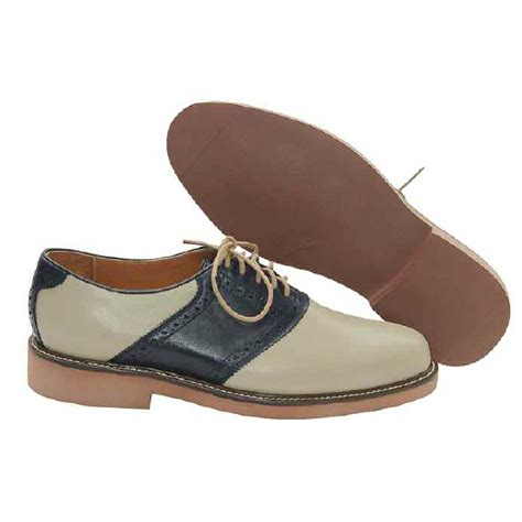 saddle oxfords shoes david spencer saddle oxfords khaki navy mensdesignershoe