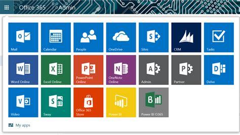 Office 365 Mail App Power Bi In Office 365 App Launcher Microsoft Power Bi