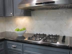 Limestone Kitchen Backsplash Marble Herringbone Backsplash Contemporary Kitchen
