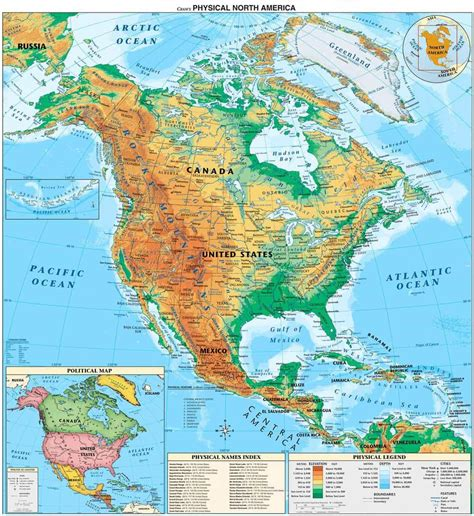 physical geography map of usa read around the continents a america united states