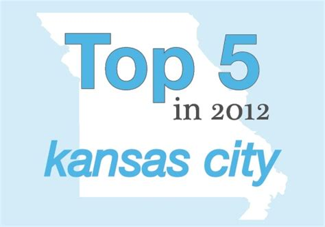Mba Finance In Kansas City by Mba Top 5 In 2012 Kansas City Missouri Business Alert