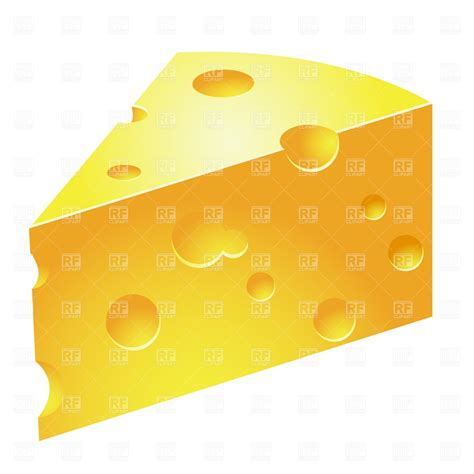cheese clip cheese slice vector image 907 rfclipart