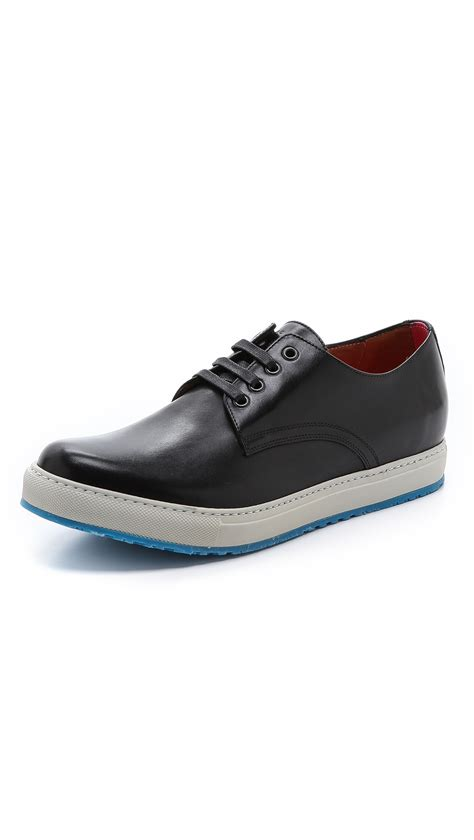 sole shoes marc white sole shoes in black for lyst