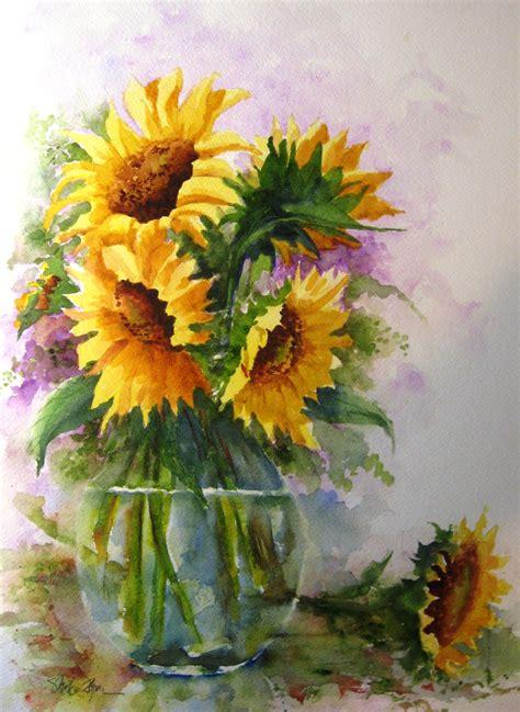 libro watercolour flower portraits watercolor paintings of flowers summertime mike flynn watercolor art
