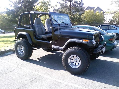 Jeep Wrangler 95 95 Jeep Yj 6 Quot Lift 4 Suspension 2 35 X 12 5 X 15
