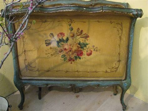 antique painted bed color furniture 1