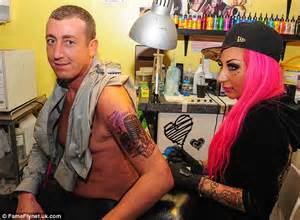x factor s christopher maloney gets first tattoo in memory