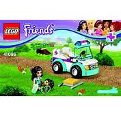 Notice / Instructions De Montage  LEGO Friends 41086