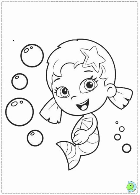 bubble kitty coloring page bubble guppies coloring book coloring home
