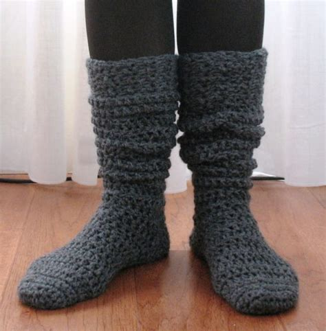 knitted boot socks free pattern knitted slipper socks the whoot