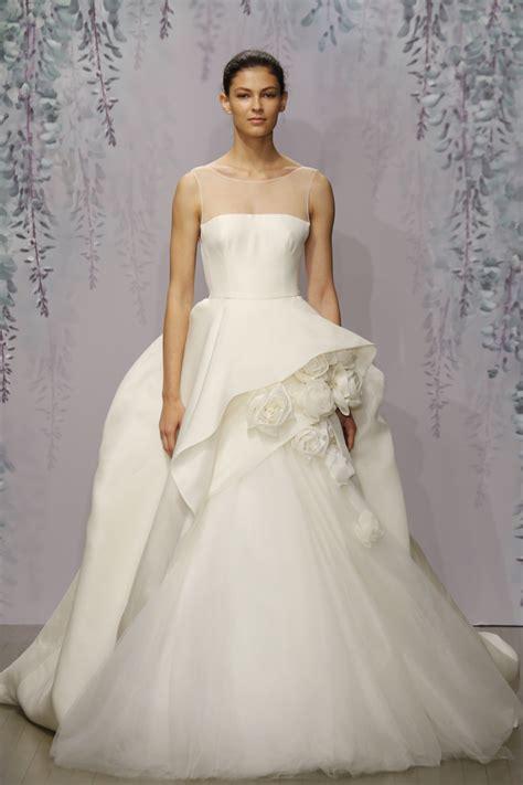 monique lhuillier bridal monique lhuillier fall 2016 wedding dress collection